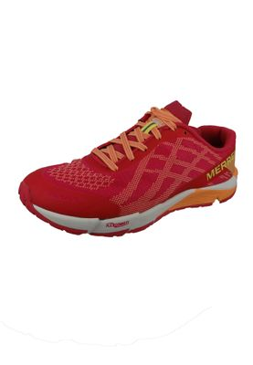 Merrell Bare Access Flex E-Mesh J12612 Damen Hot Coral Pink Trail Running – Bild 1