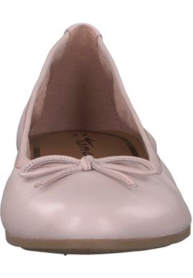 Tamaris 1-22116-20 531 Damen Rose Leather Rosa Leder Ballerina mit TOUCH-IT Sohle – Bild 6
