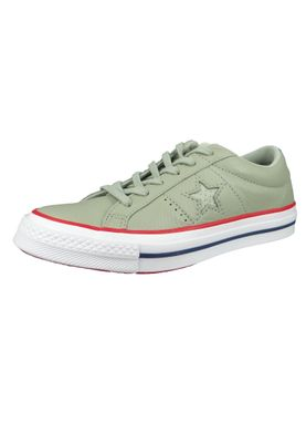 Converse Chucks 160625C Green One Star OX Surplus Sage Gym Red – Bild 1