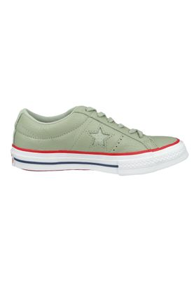 Converse Chucks 160625C Green One Star OX Surplus Sage Gym Red – Bild 5