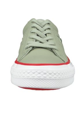 Converse Chucks 160625C Green One Star OX Surplus Sage Gym Red – Bild 6