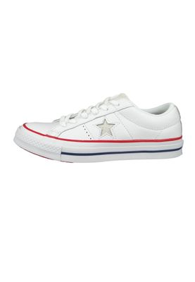 Converse Chucks 160624C Weiss One Star OX White Gym Red – Bild 6