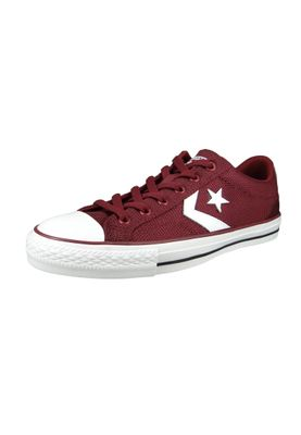 Converse Chucks 160583C Star Player  - OX Weinrot Dark Burgundy – Bild 1
