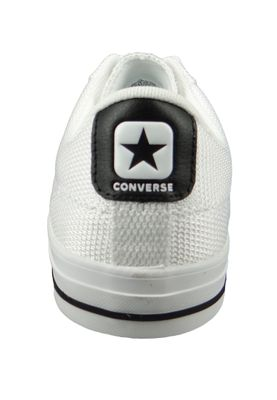Converse Chucks 160580C Star Player  - OX Weiss - White Black White – Bild 4