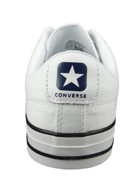 Converse Chucks 160558C Star Player  - OX Weiss - White Navy Black – Bild 3
