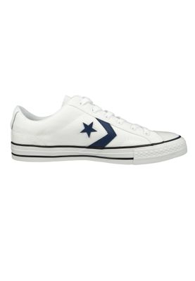 Converse Chucks 160558C Star Player  - OX Weiss - White Navy Black – Bild 4