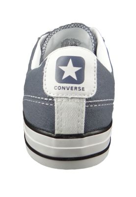 Converse Chucks 160557C Star Player  - OX Grau - Light Carbon White Black – Bild 4