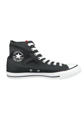 Converse Chucks Schwarz 160901C Chuck Taylor All Star HI LOONEY TUNES - Black White Red – Bild 5