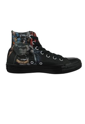 Converse Chucks Schwarz 161305C Chuck Taylor All Star HI BATMAN - EDITION - Black – Bild 4