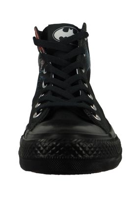 Converse Chucks Schwarz 161305C Chuck Taylor All Star HI BATMAN - EDITION - Black – Bild 5
