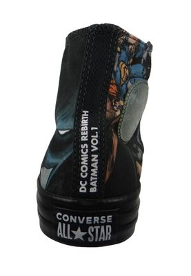 Converse Chucks Schwarz 161305C Chuck Taylor All Star HI BATMAN - EDITION - Black – Bild 3