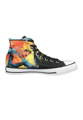 Converse Chucks Schwarz 161389C Chuck Taylor All Star HI SUPERMAN - EDITION - Black – Bild 5