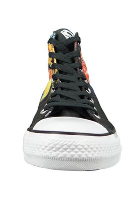 Converse Chucks Schwarz 161389C Chuck Taylor All Star HI SUPERMAN - EDITION - Black – Bild 6