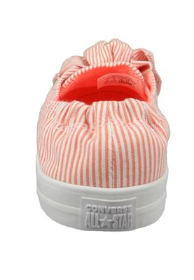 Converse Chucks 560674C Orange CHUCK TAYLOR ALL STAR KNOT - SLIP Crimson Pulse White – Bild 4