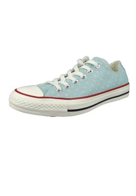Converse Chucks 160516C Chuck Taylor All Star OX Blau Ocean Bliss Garnet – Bild 1