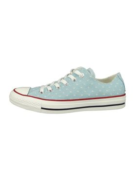 Converse Chucks 160516C Chuck Taylor All Star OX Blau Ocean Bliss Garnet – Bild 2