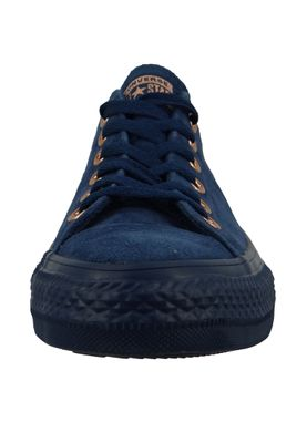 Converse Chucks 161205C Chuck Taylor All Star OX Leder Mono Blau Navy – Bild 6