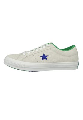 Converse Chucks 160592C One Star OX Leder Weiss White Court Purple Tennis Wimpledon – Bild 3