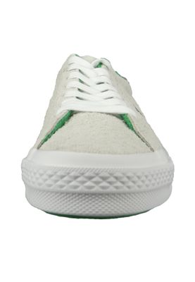 Converse Chucks 160592C One Star OX Leder Weiss White Court Purple Tennis Wimpledon – Bild 6
