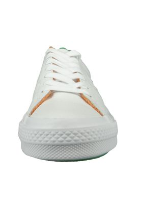 Converse Chucks 160594C One Star OX Leder Weiss White Green Tangelo Australian Open – Bild 6