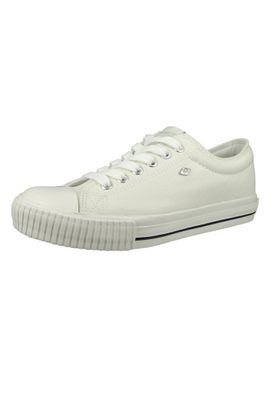 British Knights BK Sneaker B41-3725-03 Damen Master-LO Canvas Off White Weiss – Bild 1