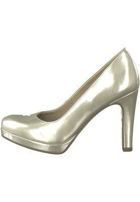 Tamaris 1-22426-20 909 Damen Light Gold Plateau Pumps High-Heel mit TOUCH-IT Sohle – Bild 3