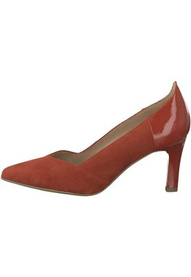 Tamaris 1-22417-20 533 Damen Chili Rot Pumps mit TOUCH-IT Sohle – Bild 3