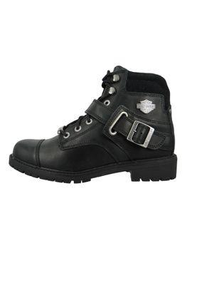 Harley Davidson Biker Boots D96462 Bowers Engineerstiefel schwarz black – Bild 2