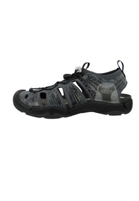 KEEN Herren Sandale Trekkingsandale Evofit One Schwarz Heathered Black Magnet - 1019301 – Bild 3