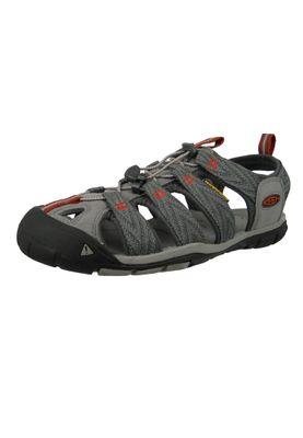 KEEN Herren Sandale Wassersportsandale Trekkingsandale CLEARWATER CNX Grau Grey Flannel - 1018497 – Bild 1