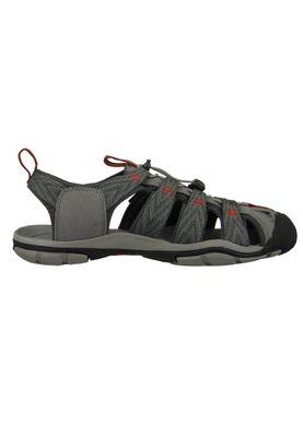 KEEN Herren Sandale Wassersportsandale Trekkingsandale CLEARWATER CNX Grau Grey Flannel - 1018497 – Bild 4