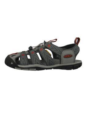 KEEN Herren Sandale Wassersportsandale Trekkingsandale CLEARWATER CNX Grau Grey Flannel - 1018497 – Bild 2