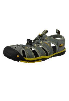 KEEN Herren Sandale Wassersportsandale Trekkingsandale CLEARWATER CNX Grau Gargoyle Super Lemon - 1009036 – Bild 1