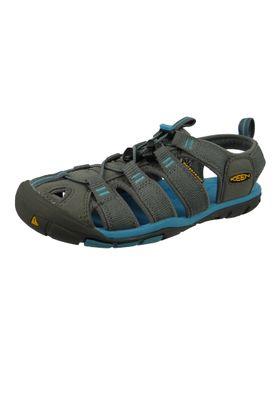 KEEN Damen Sandale Wassersportsandale Trekkingsandale CLEARWATER CNX Grau Gargoyle Norse Blue - 1008772 – Bild 1