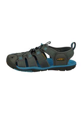 KEEN Women Sandals Water Sports Sandals Trekking Sandals CLEARWATER CNX Gray Gargoyle Norse Blue - 1008772 – Bild 3