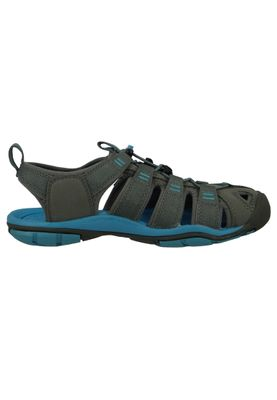 KEEN Damen Sandale Wassersportsandale Trekkingsandale CLEARWATER CNX Grau Gargoyle Norse Blue - 1008772 – Bild 5
