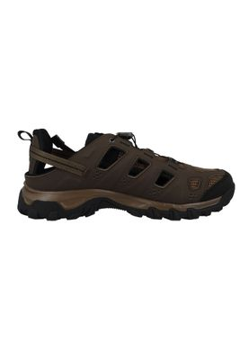 Salomon Sandale Evasion Cabrio Braun 379554 Absolute Brown-X Burro Black – Bild 4