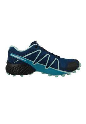 Salomon Schuhe Speedcross 4 401361 Laufschuhe Trail Blau Poseidon Eggshell Blue Black – Bild 4