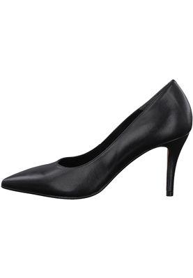 Tamaris 1-22460-20 003 Damen Black Leather Schwarz Leder Pumps – Bild 3