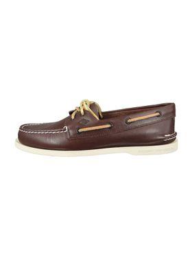 Sperry Herren Bootsschuhe 0195115 A/O 2 Eye Classic Brown Braun Leder – Bild 2