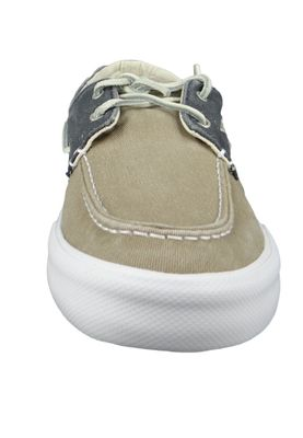 Sperry Herren Bootsschuhe STS17782 Boat Washed Taupe Navy – Bild 4