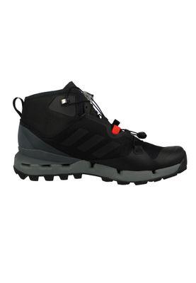 adidas Herren Outdoor Wanderschuhe TERREX FAST MID GTX-Surround core black/core black/vista grey Schwarz - BB0948 – Bild 4