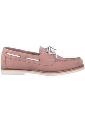 Tamaris 1-23616-20 541 Damen Light Pink Nubuc Rosa Leder Bootsschuh – Bild 2