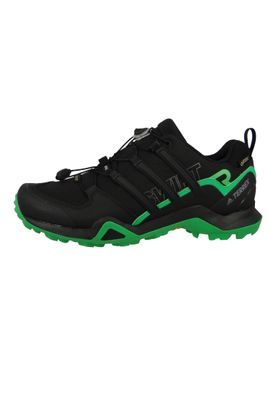 adidas TERREX SWIFT R2 GTX CM7496 Herren Outdoor Hikingschuhe Core Black/Core Black/Energy Green schwarz/grün – Bild 4
