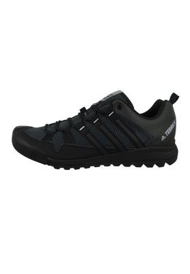 adidas Herren Outdoor Multifunktionsschuhe Terrex Solo Dark Grey/Core Black/Grey Grau - BB5561 – Bild 3