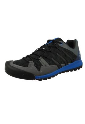 adidas Herren Outdoor Multifunktionsschuhe Terrex Solo Core Black/Core Black/Blue Beauty Schwarz - CM7657  – Bild 1