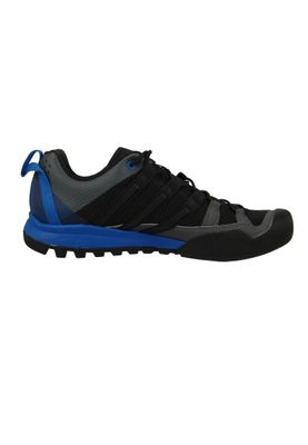 adidas Herren Outdoor Multifunktionsschuhe Terrex Solo Core Black/Core Black/Blue Beauty Schwarz - CM7657  – Bild 5