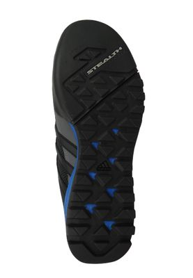 adidas Herren Outdoor Multifunktionsschuhe Terrex Solo Core Black/Core Black/Blue Beauty Schwarz - CM7657  – Bild 2