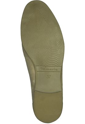 Tamaris 1-24421-20 334 Damen Antelope Suede Beige Leder Slipper mit TOUCH-IT Sohle – Bild 4