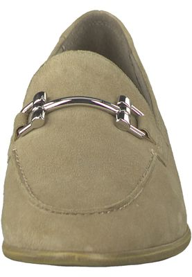 Tamaris 1-24421-20 334 Damen Antelope Suede Beige Leder Slipper mit TOUCH-IT Sohle – Bild 6